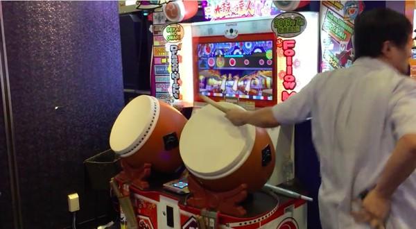 東京にクレイジーな「太鼓の達人」プレイヤーが降臨に関連した画像-05