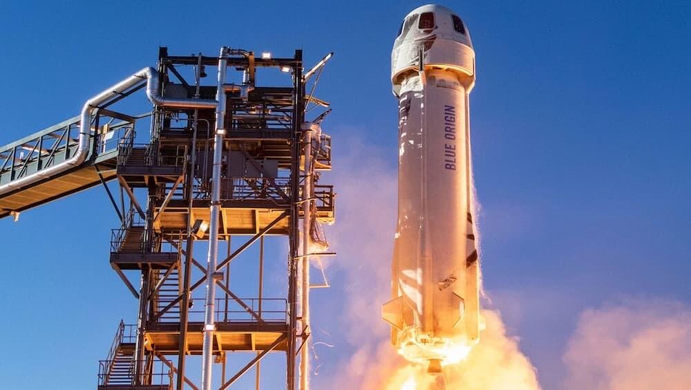 Amazon ジェフ・ベゾス ロケット ブルーオリジン