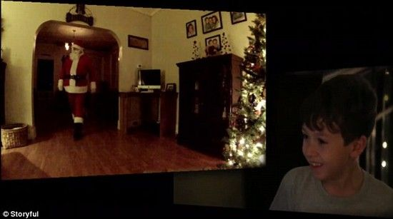 サンタクロースの隠し撮りに成功に関連した画像-03