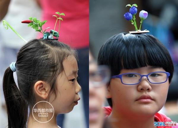 頭から発芽したように見える髪飾りが中国でバカ受けに関連した画像-07