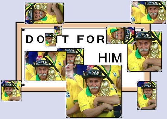 ブラジル惨敗でサポーターの表情が「悲しすぎる」に関連した画像-04