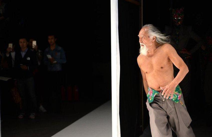 中国のファッションモデル(79歳)に関連した画像-02