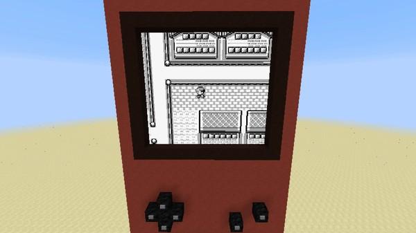 マインクラフト内で『ポケットモンスター 赤』がプレイ可能に関連した画像-06
