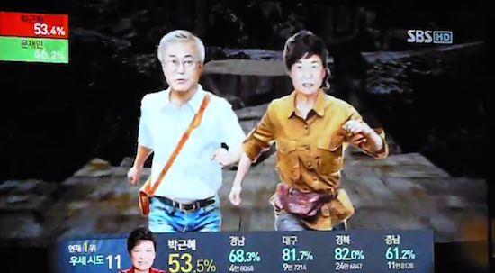 韓国の選挙報道特番に関連した画像-23