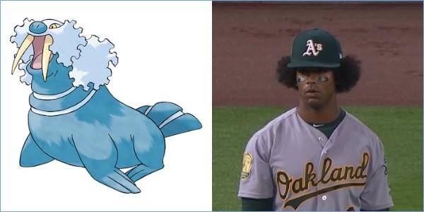 ポケモンと同じ髪型の野球選手に関連した画像-06