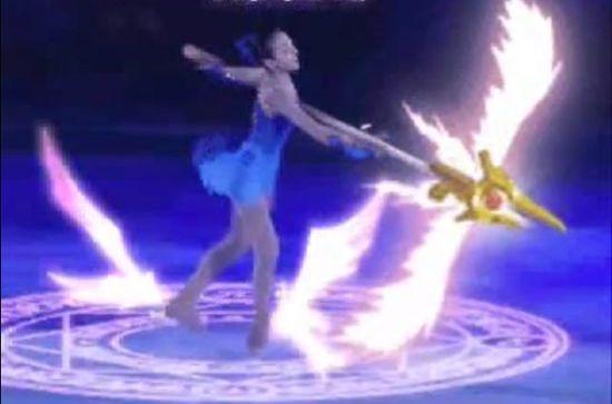 浅田真央選手のフィギュアスケート『リリカルマオウ』に関連した画像-01