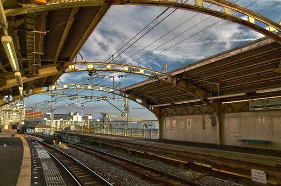 JR鶴見線・国道駅に関連した画像-11