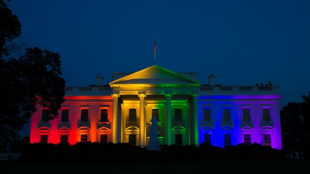 ホワイトハウス上空に虹に関連した画像-01