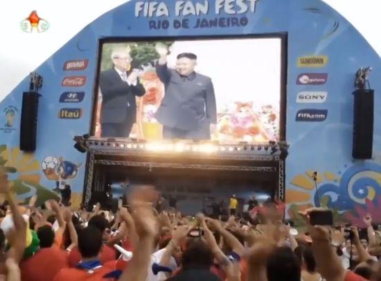 北朝鮮代表チームが決勝トーナメント進出に関連した画像-01