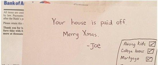 クリスマスに両親の住宅ローンを完済に関連した画像-03