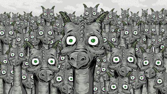 緑色の目をしたドラゴン(Green-eyed dragons)に関連した画像-01