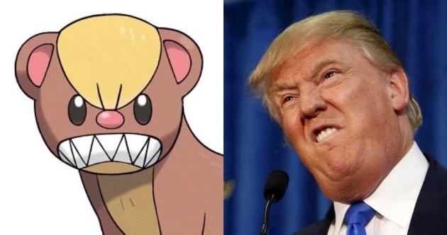新ポケモン「ヤングース」が米大統領候補トランプ氏に激似に関連した画像-04