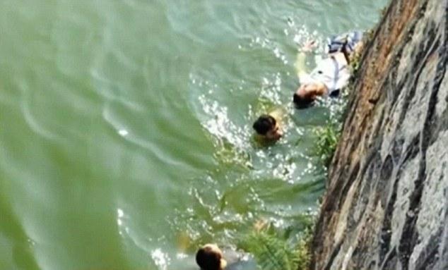 花嫁がブサイクすぎて絶望した新郎、湖で投身自殺を図るに関連した画像-02