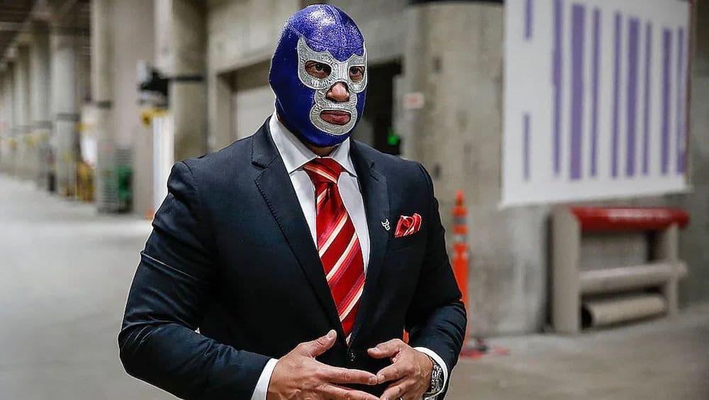 青い悪魔二世 覆面レスラー メキシコ ルチャリブレ ブルー・デーモン・ジュニア