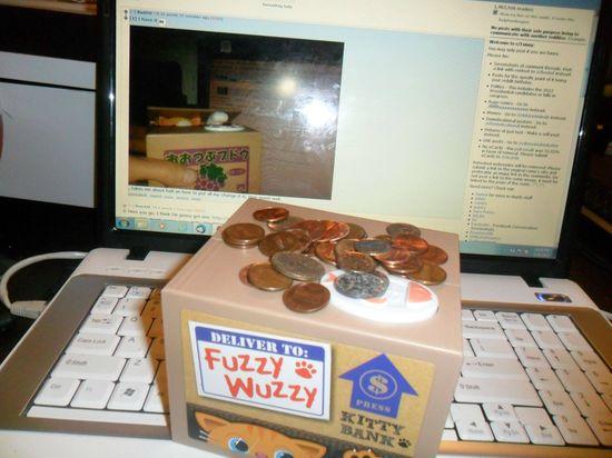 ネコの貯金箱『いたずらBANK』に関連した画像-02
