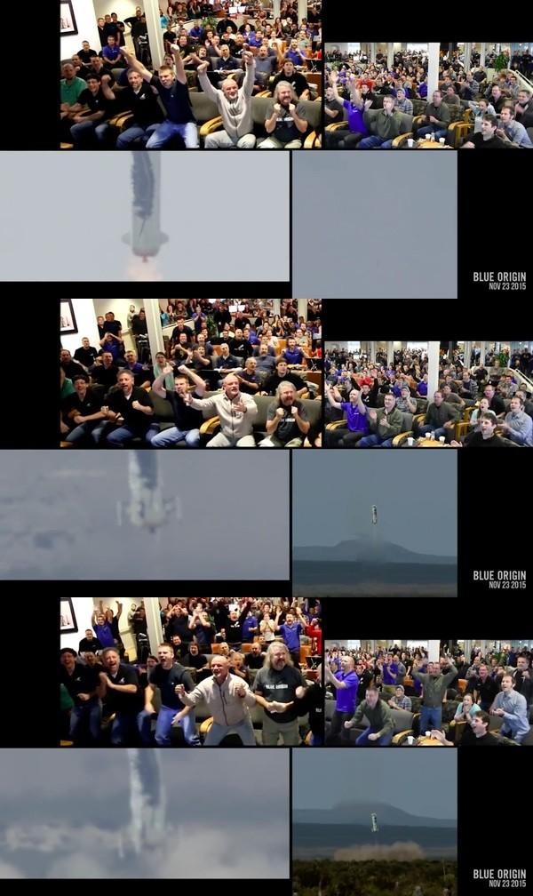 ロケット垂直着陸に成功!管制塔で見守る科学者たちのリアクションに関連した画像-04