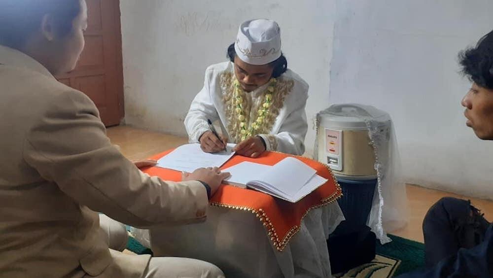 インドネシア 炊飯器 結婚