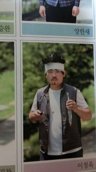 韓国の高校生の卒業アルバムに関連した画像-15