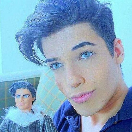 バービー人形のケンに憧れた外国人に関連した画像-04