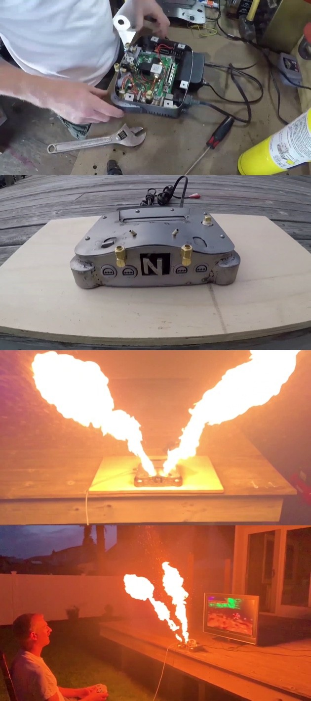 炎を吐くニンテンドー64に関連した画像-02
