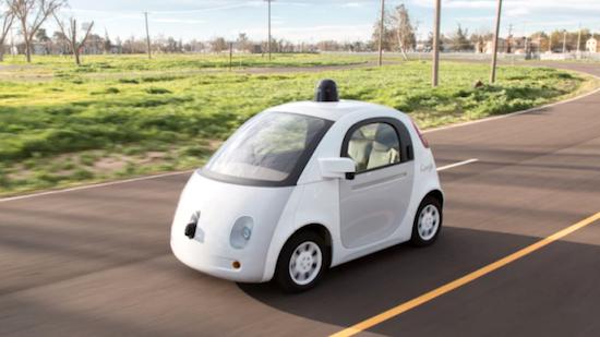 Googleの自動運転車、ノロすぎて白バイに止められるに関連した画像-01