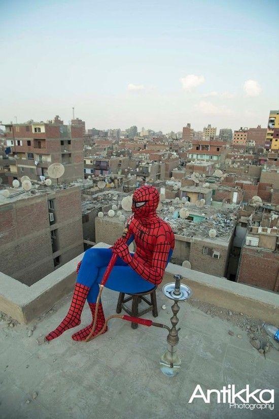 エジプトの「スパイダーマン」に関連した画像-11