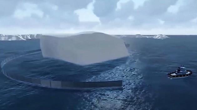 アラブの大富豪、南極大陸から巨大氷山を船で引っ張るに関連した画像-02