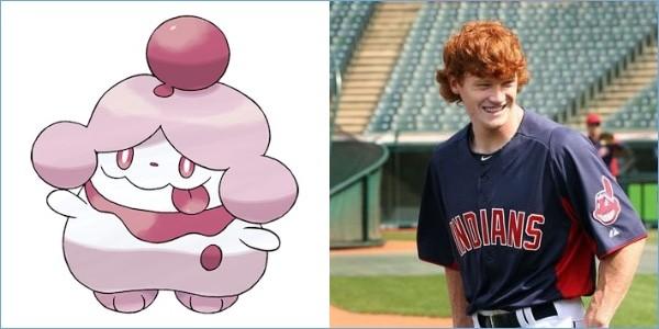 ポケモンと同じ髪型の野球選手に関連した画像-14
