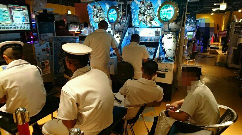 日本最強の海上自衛隊が『艦これアーケード』に夢中に関連した画像-02