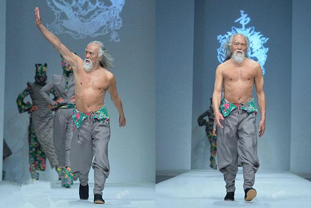 中国のファッションモデル(79歳)に関連した画像-04