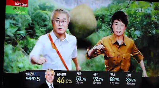 韓国の選挙報道特番に関連した画像-13