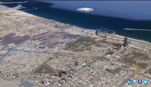 UAE氷山プロジェクトに関連した画像-04