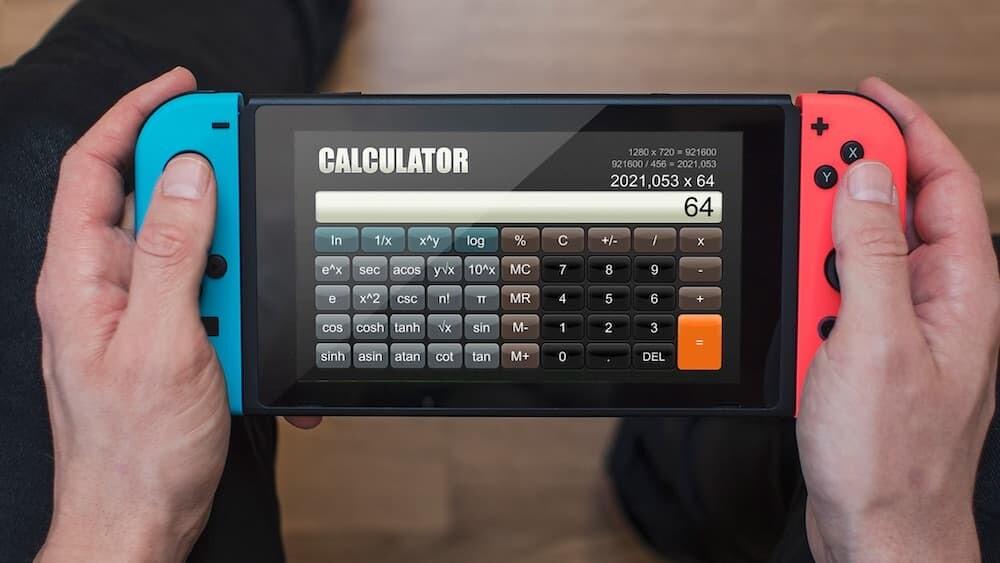 電卓 ニンテンドースイッチ Calculator 神ゲー 任天堂 Sabec