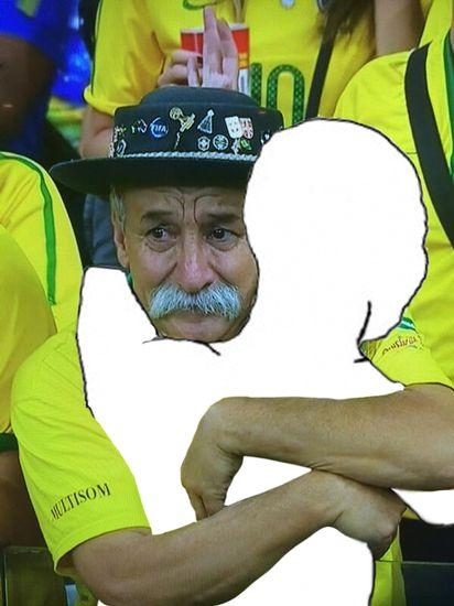 ブラジル惨敗でサポーターの表情が「悲しすぎる」に関連した画像-05