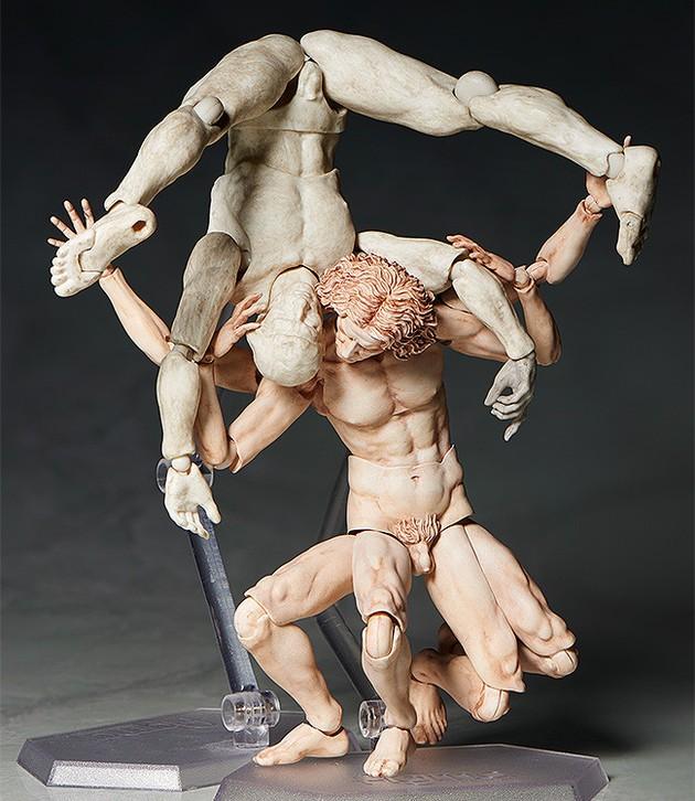 ダヴィンチの 「ウィトルウィウス的人体図」が可動フィギュア化に関連した画像-04