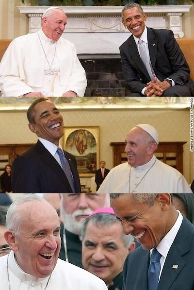 トランプ大統領、ローマ法王に露骨に嫌な顔をされるに関連した画像-09
