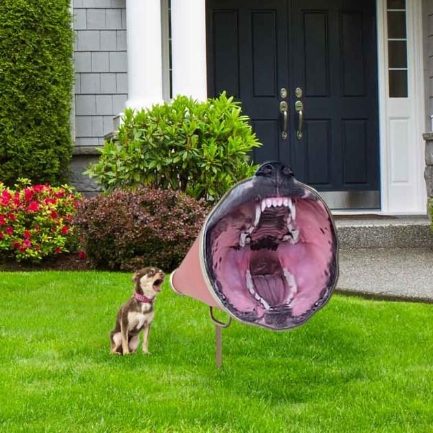 リーフブロワーの風を受け止めた犬に関連した画像-06