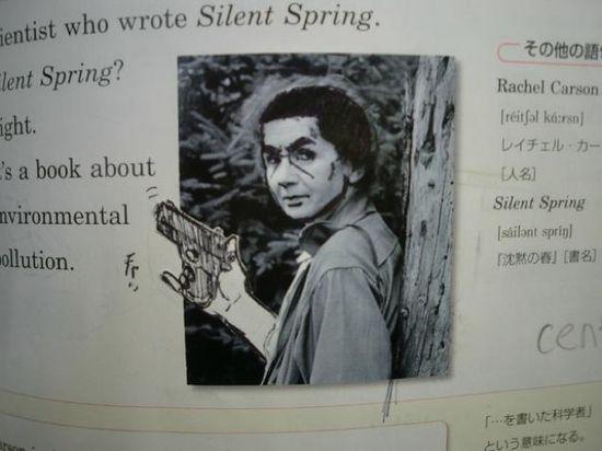 外国人「日本人がまた教科書に落書きしてるぞ」に関連した画像-10