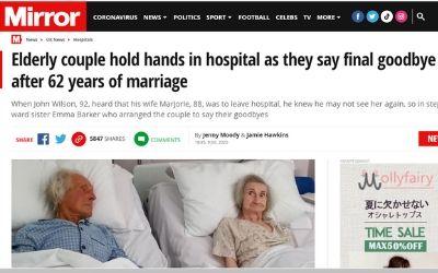 イギリス 老夫婦 病院に関連した画像-02
