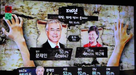 韓国の選挙報道特番に関連した画像-21