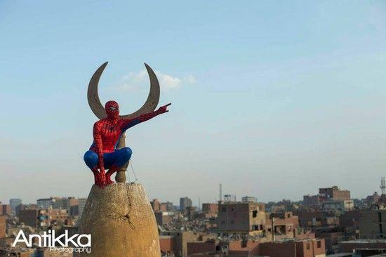 エジプトの「スパイダーマン」に関連した画像-08