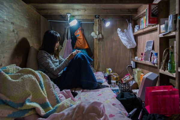 東京に実在する「極狭ホテル」に関連した画像-02