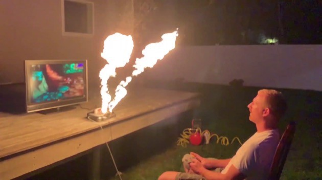 炎を吐くニンテンドー64に関連した画像-01
