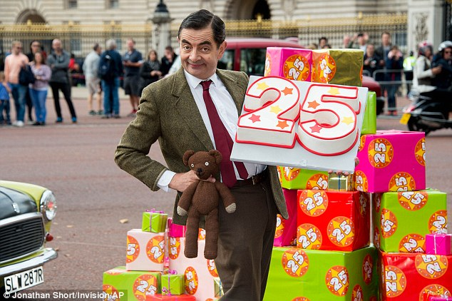 25周年を祝う、Mr.ビーンに関連した画像-04