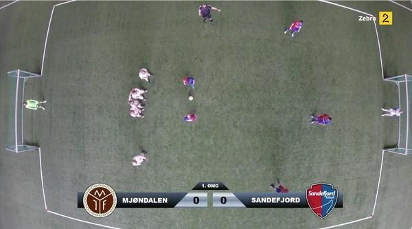 サッカー選手、見下ろし視点で試合に関連した画像-03