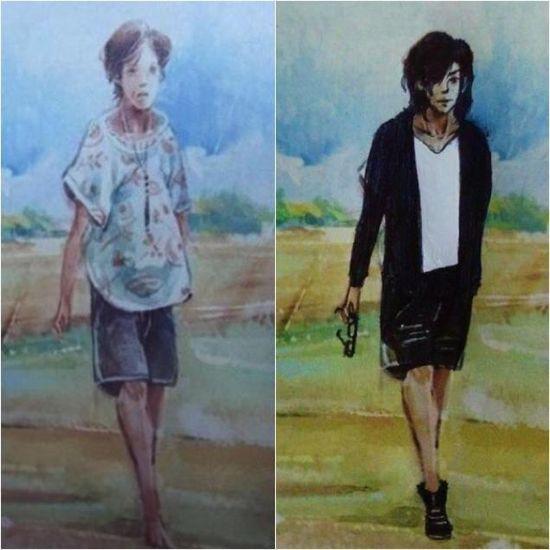 韓国人による教科書の落書きに関連した画像-09