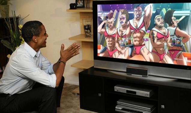オバマ大統領が日本のアニメを感謝に関連した画像-05