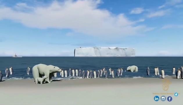 UAE氷山プロジェクトに関連した画像-06