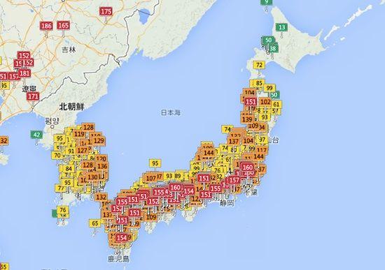 日本の大気汚染がガチでヤバすぎるに関連した画像-02