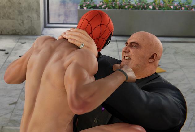 スパイダーマン『下着』スーツに関連した画像-04